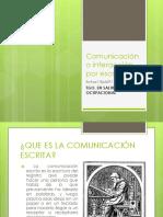 Comunicación o Interacción Por Escrito