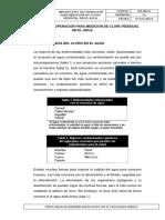 Instructivo de Operación Para Medicion de Cloro Residual en El Agua