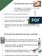 Protocolo de Desinfección Para Semillas