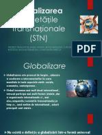 Globalizarea Proiect