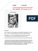 ASTROLOGICAL ANALYSIS OF Mr. JOHN.F.KENNEDY.docx