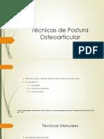 Técnicas de Postura Osteoarticular.pptx