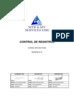 MTK-SIG-PI-002 Control de Registros.docx