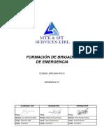 MTK-SIG-PI-013 Formación de Brigadas de Emergencia.docx