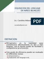 conferencia_adquisicion_bilinguismo niños