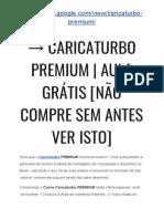 → Caricaturbo Download FREE   Caricaturbo PREMIUM funciona? [VEJA ISSO RÁPIDO]
