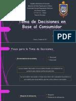 Diapositivas - Toma de Decisiones en Base al Consumidor.pptx