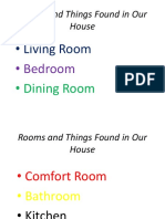 Rooms and Things Found in Our House.pptx