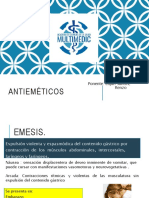 antiemeticoS- UCV