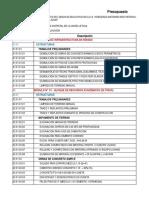 7. Cronograma Valorizado - Ampliación de Plazo 01
