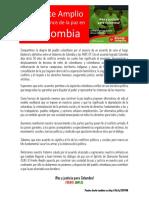 El Frente Amplio ante el avance de la paz en Colombia - Junio 2016.pdf