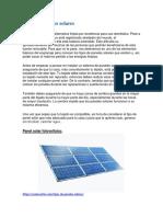 Tipos de paneles solares.docx