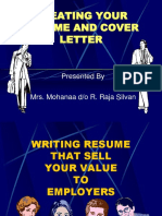CREATING YOUR COVER LETTER.ppt