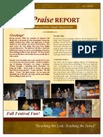 The Praise Report November 2010
