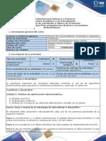 Guia de actividades y rúbrica de evaluación - Tarea 2. Modelos Cpm-Pert, programacion dinamica e inventarios determinísticos.docx