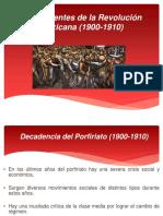 Antecedentes de la Revolución Mexicana.pptx
