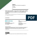Caisso 2017 - Educación popular, educación tradicional análisis etnográfico de un conflicto en un bachillerato popular (1).pdf