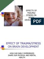 Trauma on Brain Development