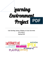 ete 328- learning environment project