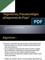 Algoritmos, Pseudocódigos YDiagramas De