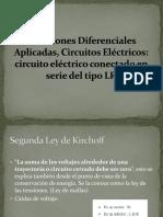 Ecuaciones Diferenciales Aplicadas, Circuitos Eléctricos.pptx