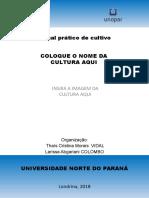 Capa Manual de Fruticultura