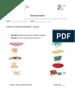 prueba informal KINDER.docx