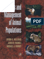 Byron K. Williams, James D. Nichols, Michael J. Conroy - Analysis and Management of Animal Populations-Academic Press (2002).pdf