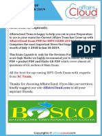 AC Exam PDF - IBPS Clerk 2019 by AffairsCloud.pdf