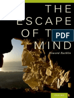 Rachlin, Howard - The escape of the mind-Oxford University Press (2014).pdf