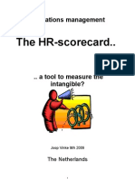 Operations Management, The HR Scorecard