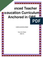 Enhanced Teacher Education Curriculum Anchored in OBE.docx