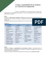 4.1 Determinacion de Los Riesgos y Oportunidades de Las Cuestiones Internas y Externas de La Organización B