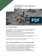 5.3 T Responsabilidad y Autoridad ISO 45001 (1)