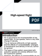 High Speed Flight