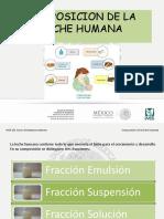 Clasificacion y Caracteristicas de La Leche Humana
