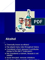 Alcohol Adapted From Ch 7