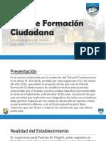 Plan de Formación Ciudadana Presentación 1