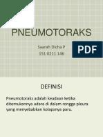 Pneumo Thorak s