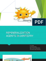 Processes and Compostions for The Remineralization of Teeth