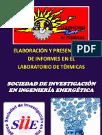 Elaboración de Inf. Termicas 2019