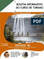 BIT - Boletim Informativo do curso Turismo - Edição 27 - UEMS - Universidade Estadual de Mato Grosso do Sul - Dourados MS