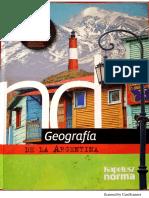 Geografía DE LA ARGENTINA, Kapeluz norma, programa kapeluz nuevos desafíos, para pensar educación secundaria, Bs. As. 2014.pdf