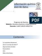 Fuentes de informacion Quimica las bases de datos.pptx