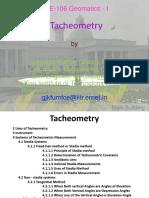 Lesson 16 CE-106- Tacheometry & Trigonometric lavelling.pdf
