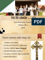 Gala Tineretului Ortodox 2019