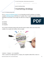 3 C Concept of Marketing Strategy - Marketing Strategy Explained With 3 C's