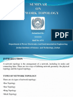 A SEMINAR ON NETWORK TOPOLOGY