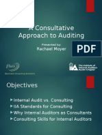 A Consultative Approach to Auditing