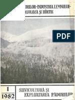 Revista Pădurilor 1-1982